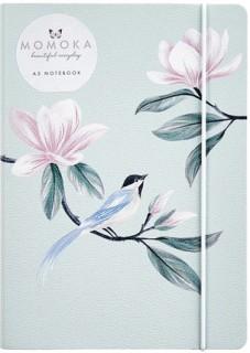 WHSmith-Momoka-A5-Bird-Notebook on sale