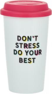 Slogan-Travel-Mug on sale