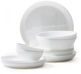 Luminarc-Opal-Embossed-Toughened-Glass-Dinnerware on sale