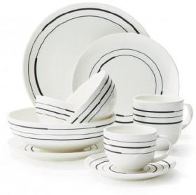 Hampton-Mason-Black-Swirl-Dinnerware on sale
