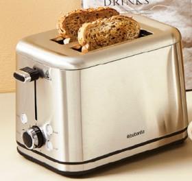 Brabantia-Stainless-Steel-2-Slice-Toaster on sale