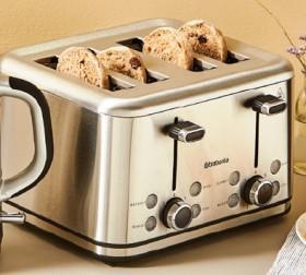 Brabantia-Stainless-Steel-4-Slice-Toaster on sale