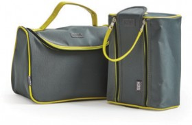 Kas-George-Grey-Holdall-Wash-Bags on sale