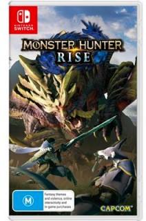Nintendo-Switch-Monster-Hunter-Rise on sale