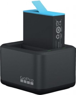 GoPro-Dual-Battery-Charger-Battery-HERO9-Black on sale