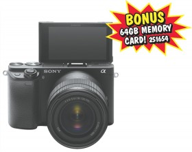 Sony-A6400-Camera-With-16-50MM-Lens on sale