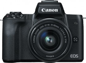 Canon-EOS-M50-Mirrorless-Camera-with-EF-M-15-45mm-Lens on sale