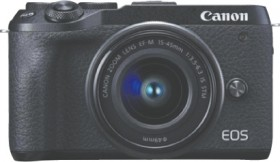 Canon-EOS-M6-II-Mirrorless-Camera-with-15-45mm-Lens on sale