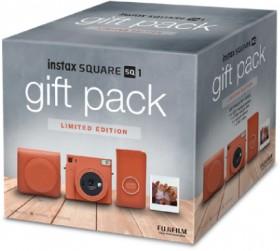 Fujifilm-Instax-SQ1-Gift-Pack-Teracotta-Orange on sale