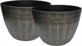 Whiskey-Barrel-Planter on sale