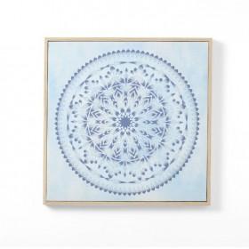 NEW-Ombre-Home-Weathered-Coastal-Mandala-Wall-Art-50x50cm on sale