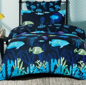 40-off-Ombre-Blu-Neon-Reef-Duvet-Cover-Set on sale