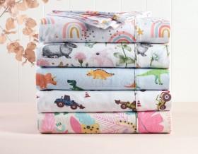 Kids-House-Flannelette-Sheet-Sets on sale