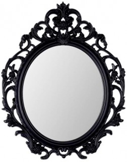 30-off-Baroque-Oval-Mirror-48x60cm on sale