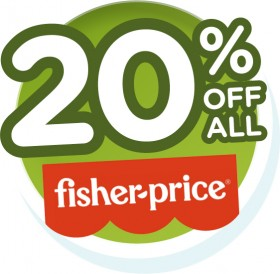 20-off-All-Fisher-Price on sale