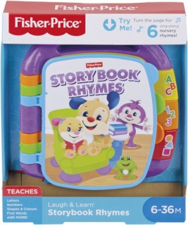 Fisher-Price-Laugh-Learn-Story-Book-Rhymes on sale