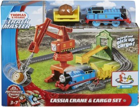Thomas-Friends-Trackmaster-Cassia-Crane-Cargo-Set on sale