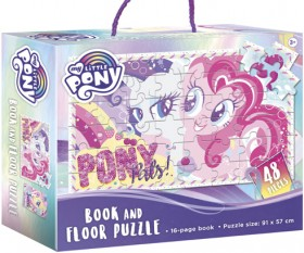 My-Little-Pony-Book-and-Floor-Puzzle on sale