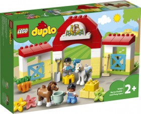 LEGO-Duplo-Horse-Stable-and-Pony-Care-10951 on sale