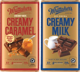 Whittakers-Chocolate-Blocks-250g on sale