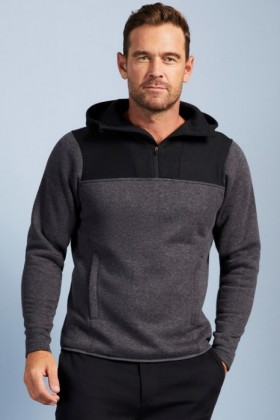 Isobar-Half-Zip-Fleece-Hoodie on sale