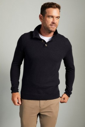 Southcape-Lambswool-Button-Sweater on sale