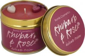 40-off-RRP-Bomb-Cosmetics-Tin-Candle-Rhubarb-Rose on sale