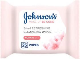 Johnsons-Makeup-Be-Gone-Moisturising-25-Wipes on sale