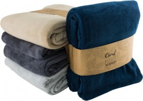 Coral-Fleece-Blanket on sale