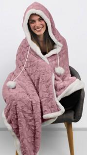 Nordic-Winter-Hooded-Blanket on sale
