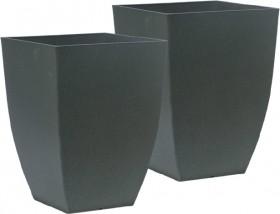 Plastic-Square-Taper-Pot-33.8cm on sale