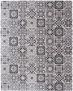 Carrelage-Black-Tile-Hand-Blocked-Rug-240-x-300cm on sale